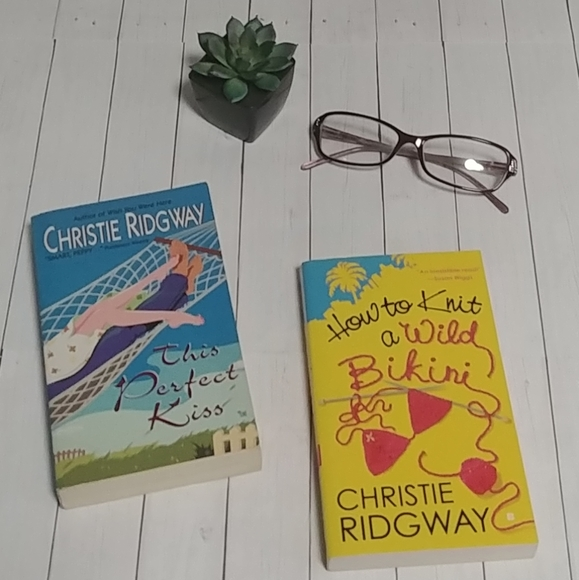 Other - Christy Ridgway Book Set
